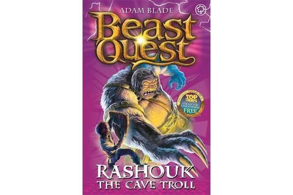 Beast Quest: Rashouk the Cave Troll - Series 4 Book 3