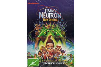 Jimmy Neutron - Boy Genius - Animation / Adventure - Region 4 NEW DVD