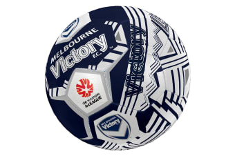 Summit Size 5 A-League Melbourne Victory Soccerball