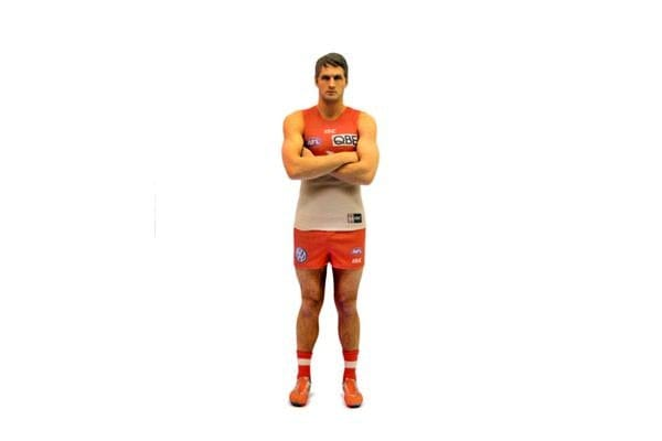 Josh Kennedy AFL Captains 3D Printed Mini League Figurine - 18cm