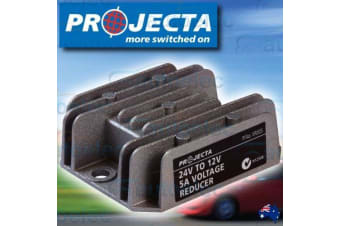 PROJECTA 5 AMP 24 VOLT TO 12 VOLT 12V WATERPROOF VOLTAGE REDUCER OUTPUT VR005