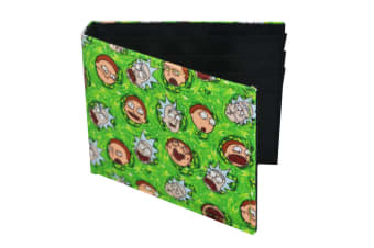 Rick And Morty Official Bifold Wallet (Multicoloured)