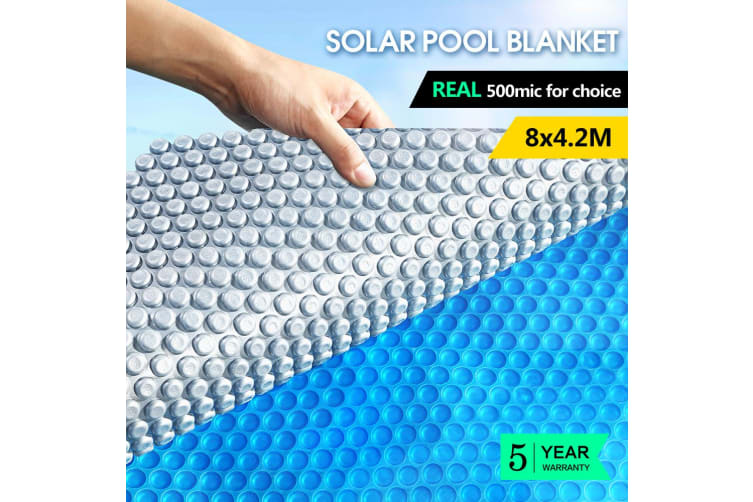 Solar Swimming Pool Cover 500 Micron Outdoor Blanket Isothermal 7 Sizes
