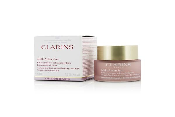 Clarins Multi-Active Day Targets Fine Lines Antioxidant Day Cream-Gel - For Normal To Combination Skin 50ml/1.7oz