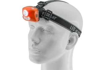 3W Motion Activated Head Lamp