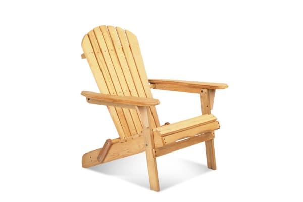 Exceptionnel Adirondack Foldable Wooden Deck Chair