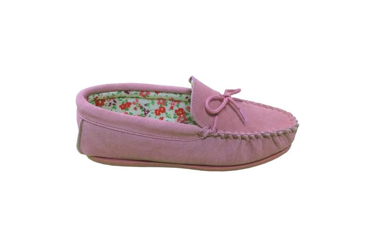 Mokkers Womens/Ladies Lily Slip On Slippers (Pink) (3 UK)