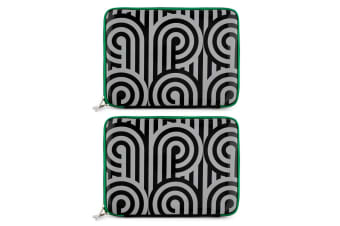"2PK Florence Broadhurst Turnabouts Case/Sleeve Cover f/ 11.5"" Notebook/Laptop"
