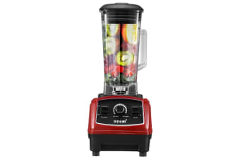 Commercial High Speed Blender Smoothie Maker Food Mixers Juicer 2L Red