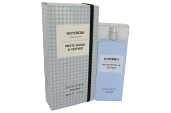 Selectiva SPA Notebook White Wood & Vetiver Eau De Toilette Spray 100ml/3.4oz