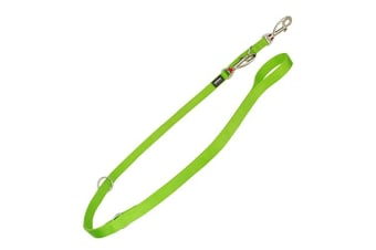 Red Dingo Multiposition Plain Dog Lead (Lime Green)