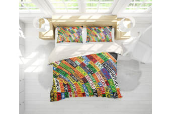 3D Band Radiohead Quilt Cover Set Bedding Set Pillowcases 64-King