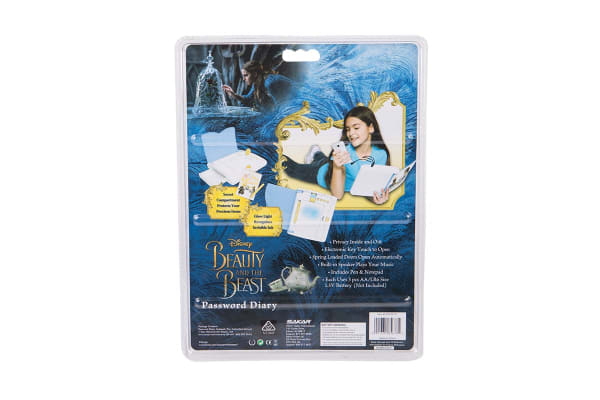 Beauty and The Beast Password Diary