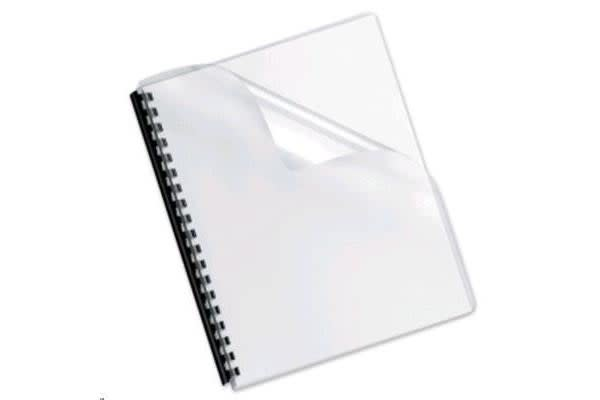 Fellowes Cover Clear (0.2) Pack 50
