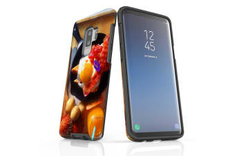 For Samsung Galaxy S9+ Plus Case Armour Cover  Delicious Breakfast