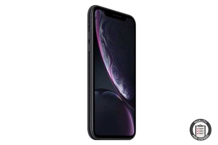 Apple iPhone XR Refurbished (128GB, Black) - AB Grade