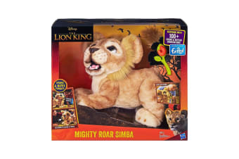 FurReal The Lion King Mighty Roar Simba Interactive Plush Pet