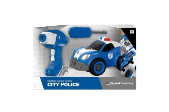 City Remote Control Police Car with Sounds