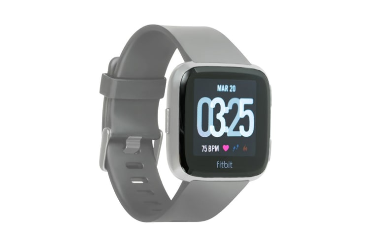 Fitbit Versa Smart Fitness Watch (Grey)
