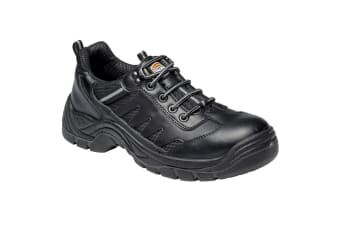Dickies Mens Stockton Super Safety Trainers / Footwear (Black) (7)