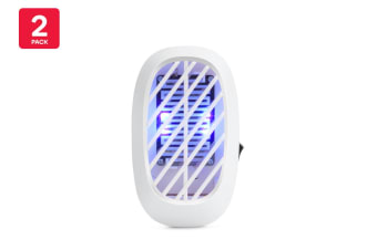 2 Pack Pestill Plug-In Night Light Bug Zapper