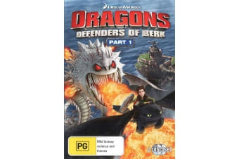 Dragons Defenders of Berk Part 1 DVD Region 4