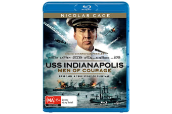 USS Indianapolis Men of Courage Blu-ray Region B