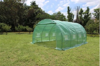 4X3X2M Walk In Greenhouse Tunnel Plant Garden Storage Grow Sheds