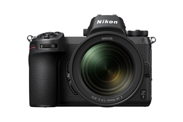 Nikon Z7 with 24-70mm Lens & FTZ Adaptor