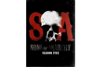 Sons of Anarchy Season Five 4 Disc Set - Series Region 1 DVD PREOWNED: DISC LIKE NEW