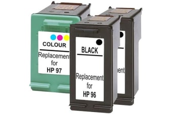#96 Compatible Inkjet Cartridge Set with Extra Black