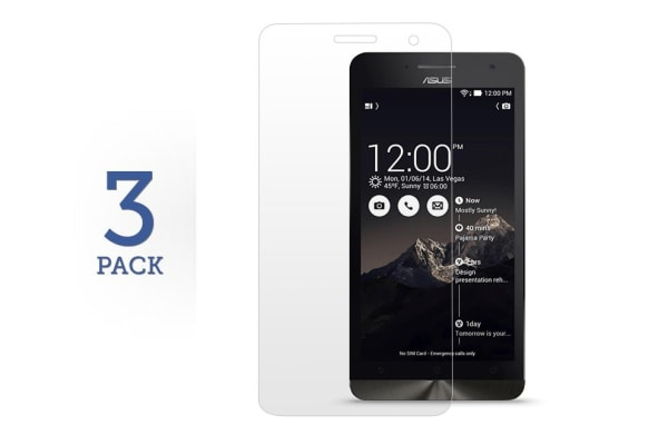 3 Pack Screen Protector for Asus ZenFone 6