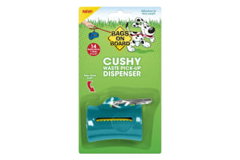 Bags On Board Cushy Dispenser (14 Bags) (Teal) (One Size)