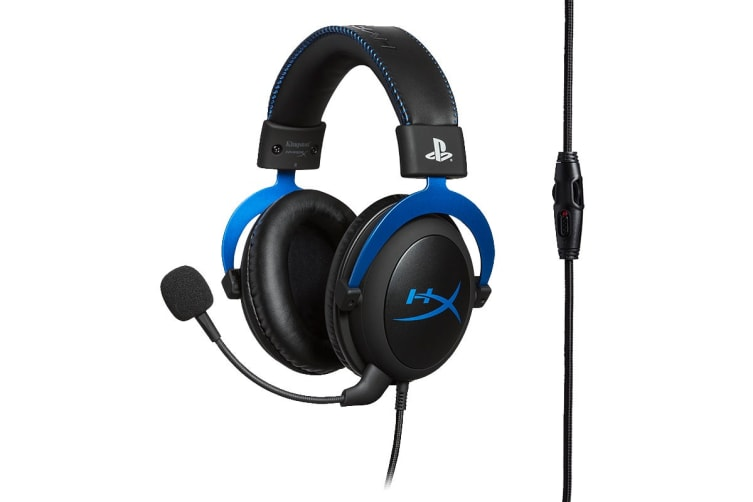 HyperX Cloud Gaming Headset for PS4 (Blue)