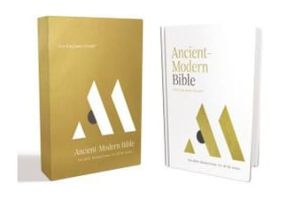 NKJV, Ancient-Modern Bible, Hardcover, Comfort Print - One faith. Handed down. For all the saints.
