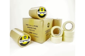 48x Loytape High Temperature Masking Tape Roll 18mm x 50m Automotive Painting