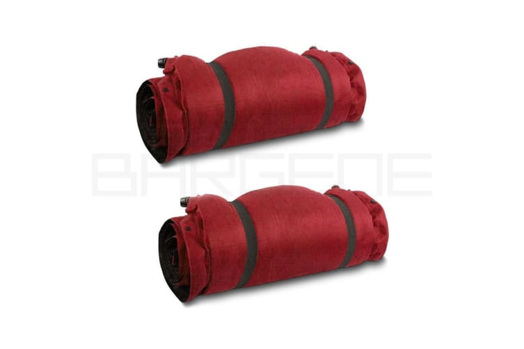 Double Self Inflating Mattress Sleeping Sedue Mat Air Bed Camping Camp Hiking Joinable Red