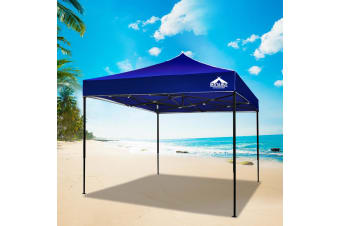 Pop Up Gazebo 3x3 Outdoor Tent Folding Wedding Marquee Gazebos Blue