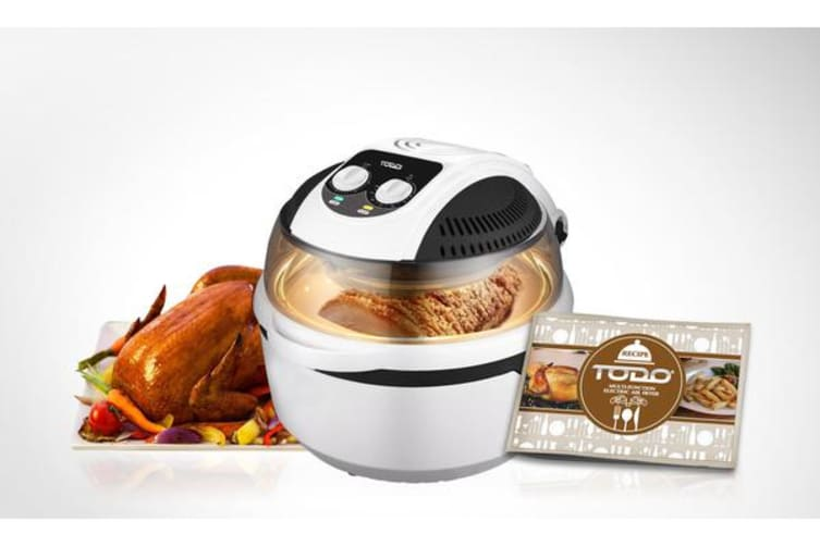 TODO Air Fryer 10L 1400W Convection Oven Rotisserie Multifunction Cooker Analog
