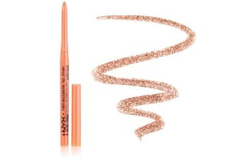 Nyx Waterproof Retractable Lip Liner Citrus Pencil Lipliner #Mpl07
