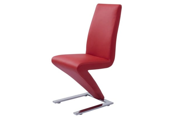 Set of 2 Z Chair (Red)