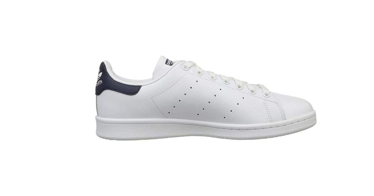 ec8d2d157ae504 Adidas Originals Men s Stan Smith Shoe (Core White Blue