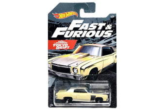 Hot Wheels Fast and Furious '70 Chevrolet Monte Carlo Diecast Car