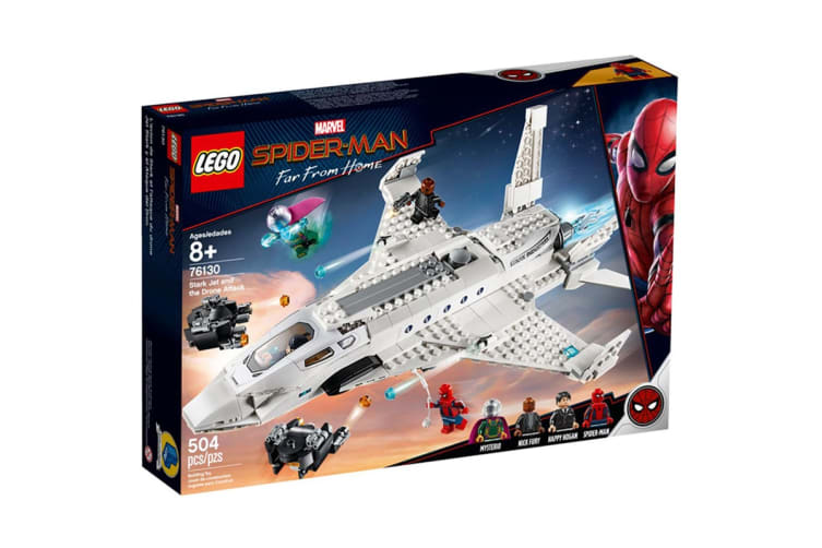 LEGO Marvel Stark Jet and the Drone Attack (76130)