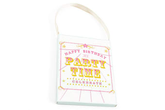 Party Time Scented Sachet (White) (10 x 1 x 13cm)