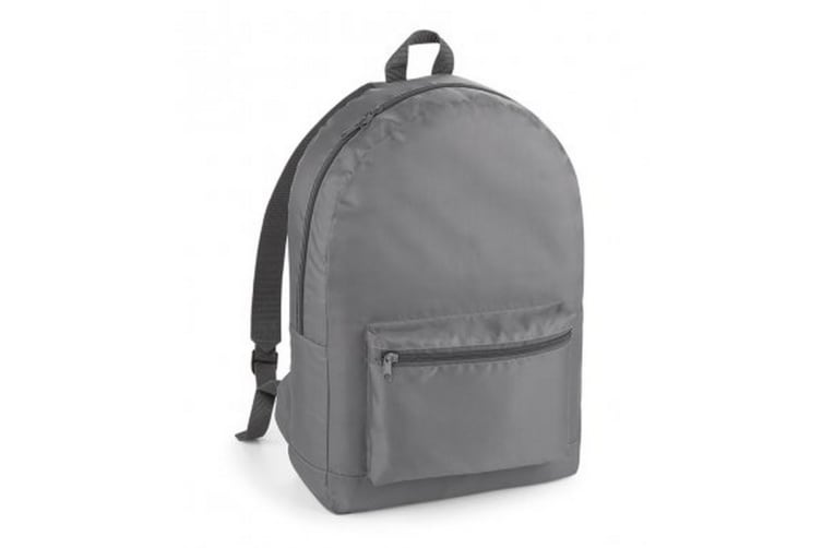 Bagbase Packaway Backpack (Graphite Grey/Graphite Grey) (One Size)