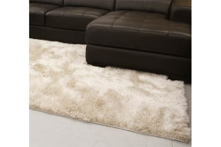 Twilight Shag Rug - Natural 225x155cm