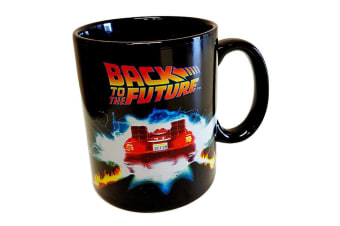 Back to the Future Delorean Heat Changing Mug