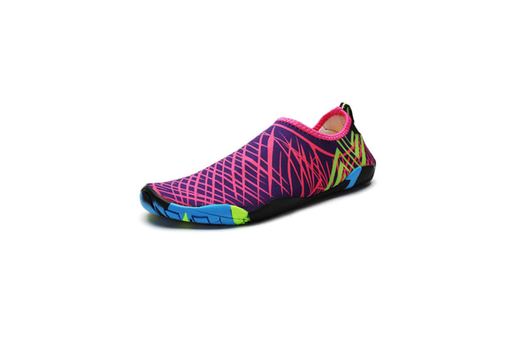 Beach Snorkeling Shoes Diving Lovers Wading Shoes Swimming Shoes 988 Purple 37