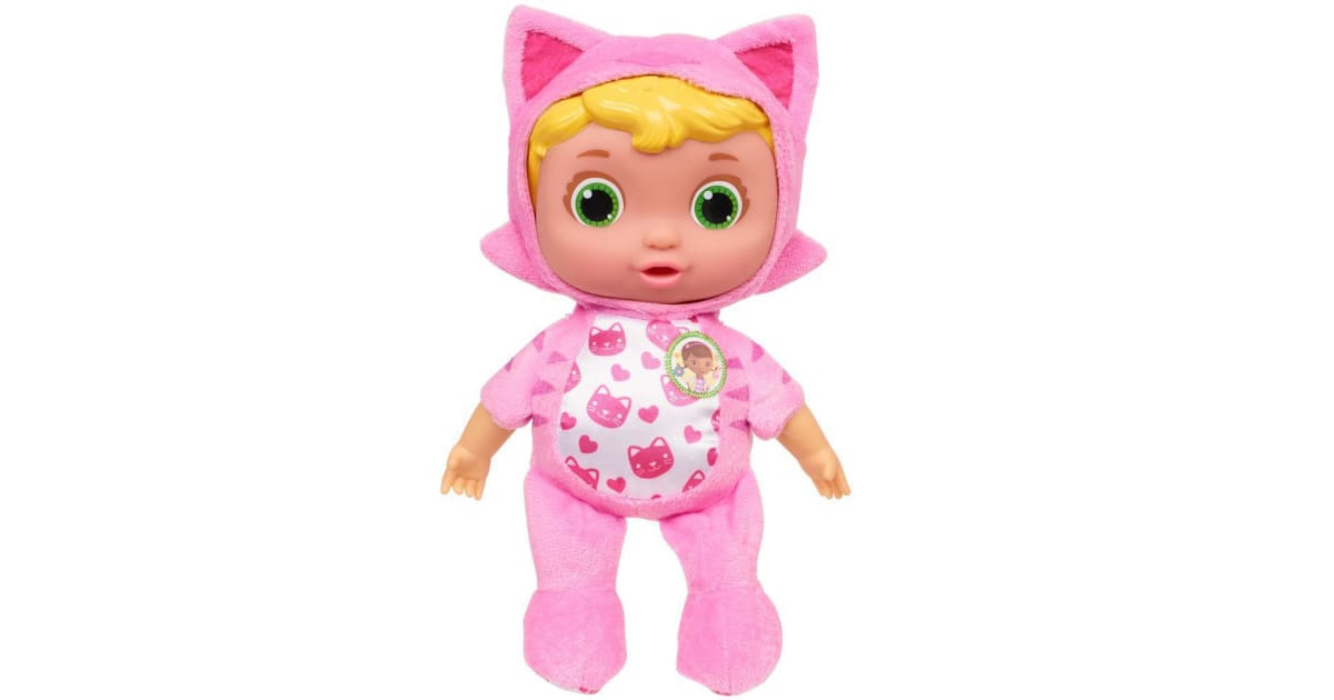 Doc Mcstuffins Baby Checkup Lil Nursery Pals Baby Cat